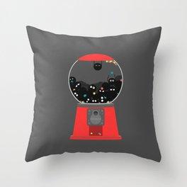 Sootball Machine Throw Pillow