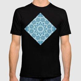 Beautiful blue sky mandala T-shirt