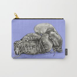 Boxing gloves blue Carry-All Pouch