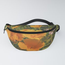 California Poppies 009 Fanny Pack