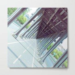 Never-Ending Bridge. Metal Print