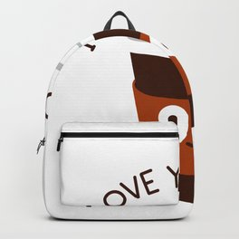 Love for Coffee Backpack