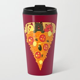 Pizza Cat Travel Mug
