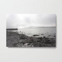 Broughty Ferry beach 1 Metal Print