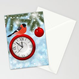 Christmas or New Year decoration Stationery Cards