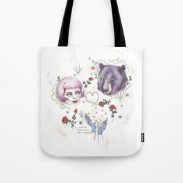 The Stars Fell Into My Hands Tote Bag