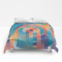 Summer Gradients Comforters