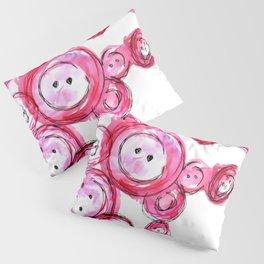 Buttons Pillow Sham