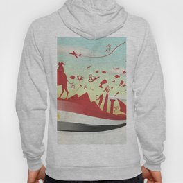 egypt background with flag and symbol Hoody