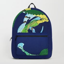 Crab Collage Backpack