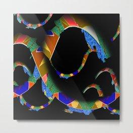 Abstract Elegant Shape Sudy 1 Metal Print