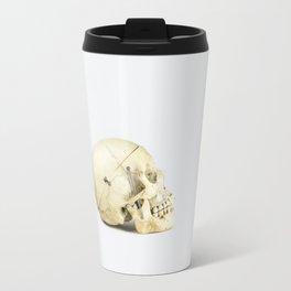 Skull Study 1 - Human Travel Mug