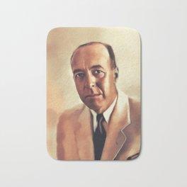 Edgar Rice Burroughs, Literary Legend Bath Mat