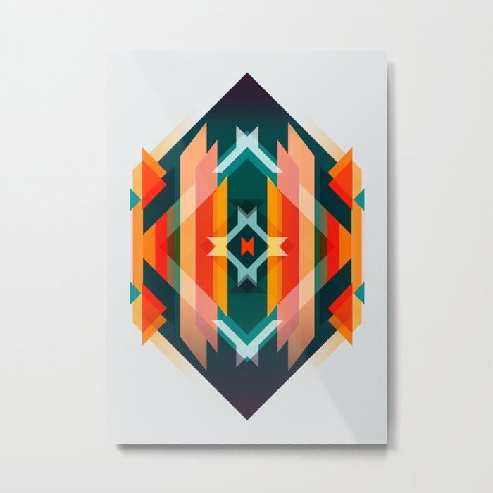 Broken Diamond - Incalescence Metal Print
