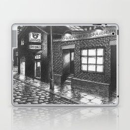 Warehouse music after work Laptop & iPad Skin