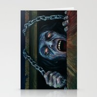 evil dead Stationery Cards featuring THE EVIL DEAD by chris zombieking