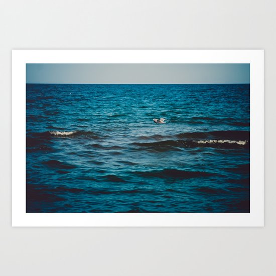 Above the Water and Into the Sky Art Print
