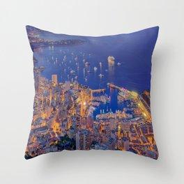 Monaco Sparkles Throw Pillow