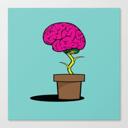 Sowing intelligence Canvas Print