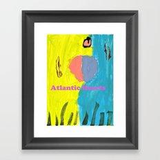 Atlantic Hearts Framed Art Print