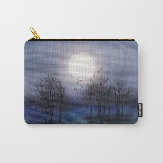 Calling The Moon Carry-All Pouch