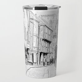 The Shambles in York City Travel Mug