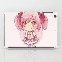madoka magica iPad Cases featuring Madoka Chibi by Porzellan