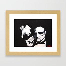 The Godfather - Secrets Framed Art Print