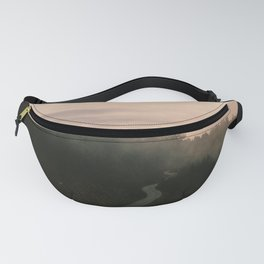 Foggy mountain Fanny Pack