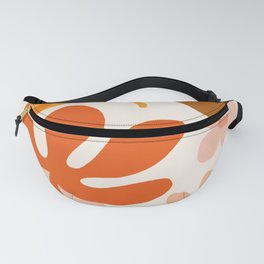 Abstraction_Floral_Colorful Fanny Pack