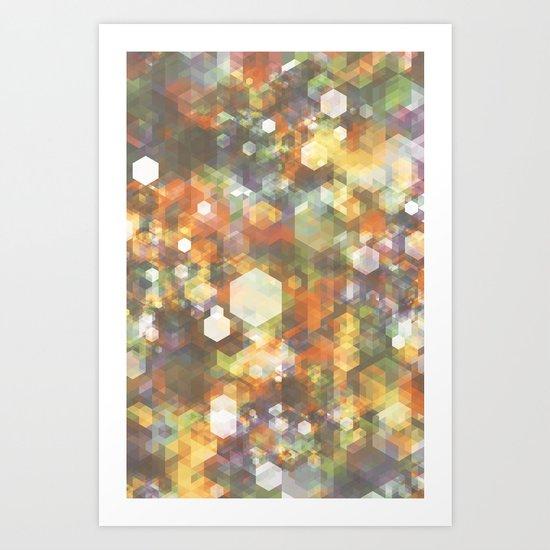 Bitmap #2 Art Print