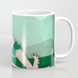 Unicorn and the Ladybug Coffee Mug