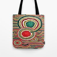 family Tote Bags featuring Family by Yukska