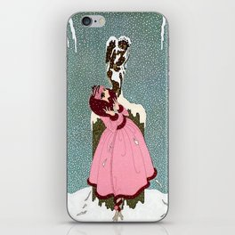 """The End of Romance"" Deco Design iPhone Skin"