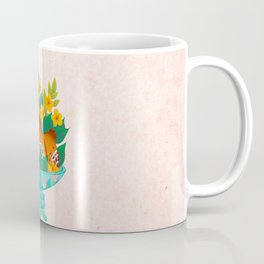 Minhwa: Pomegranate Plate Mint  Coffee Mug