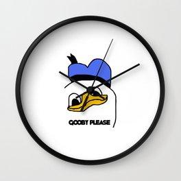 Gooby Please Wall Clock