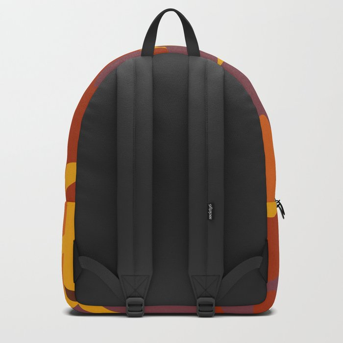Colorful Graphic Autumn Leaves Backpack