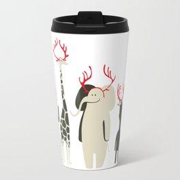 Happy to be Canadian! Travel Mug