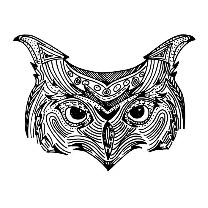 Owl Mandala Comforters