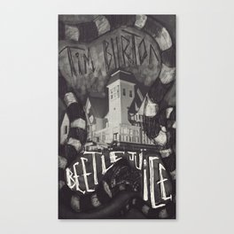 Beetlejuice Canvas Print