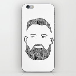 The Woodworker iPhone Skin