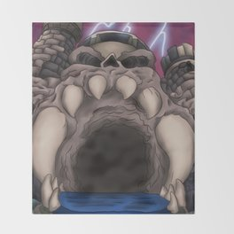 Castle Grayskull Throw Blanket