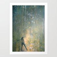 Scintillant Art Print