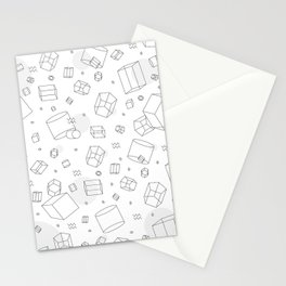 Third Dimensional Pattern Stationery Cards