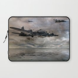 B-17 Flying Fortress - Almost Home Laptop Sleeve