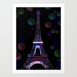 I left my heart in Paris! Art Print