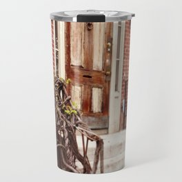 NYC Front Stoop Travel Mug