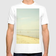 Once Upon A Summer Mens Fitted Tee White MEDIUM