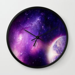 Detached in the Universe Wall Clock