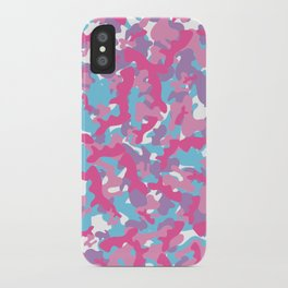 Unicorn's Breakfast [Camo Pattern] iPhone Case